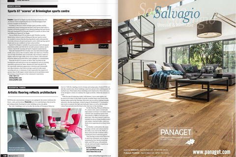 Contract Flooring Journal - April (2019) - Artistic Flooring Reflects Architecture
