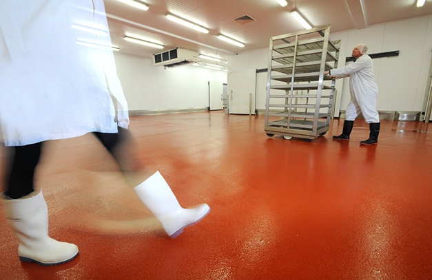 Flowcrete Takes Food Safe Flooring Message to the F&B Industry