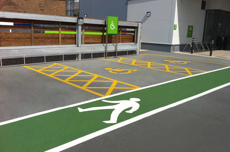 Deckshield Transforms Waitrose Car Park in Kent