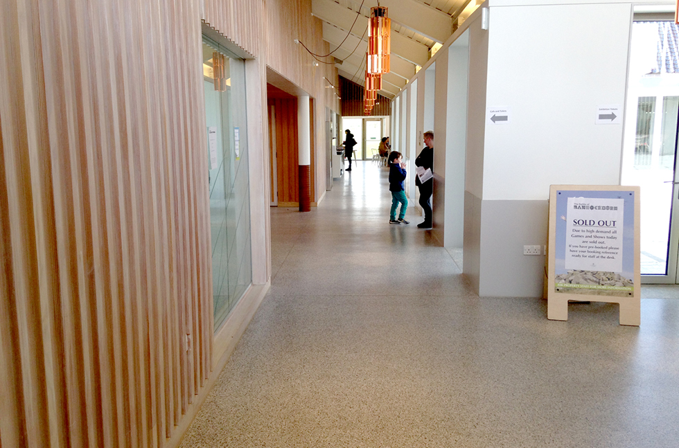 Complete Flooring Solution for The New Bannockburn Visitors Centre
