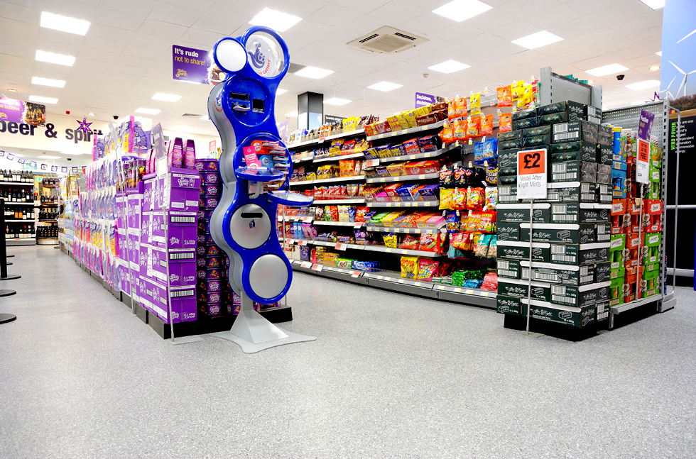 Speedy Flowfast Floors the Co-op in Scotland