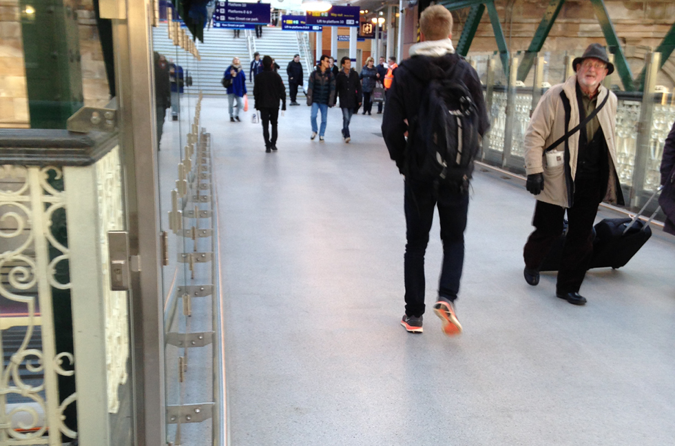 Network Rail Takes the Fast Track to Success with New Station Floor