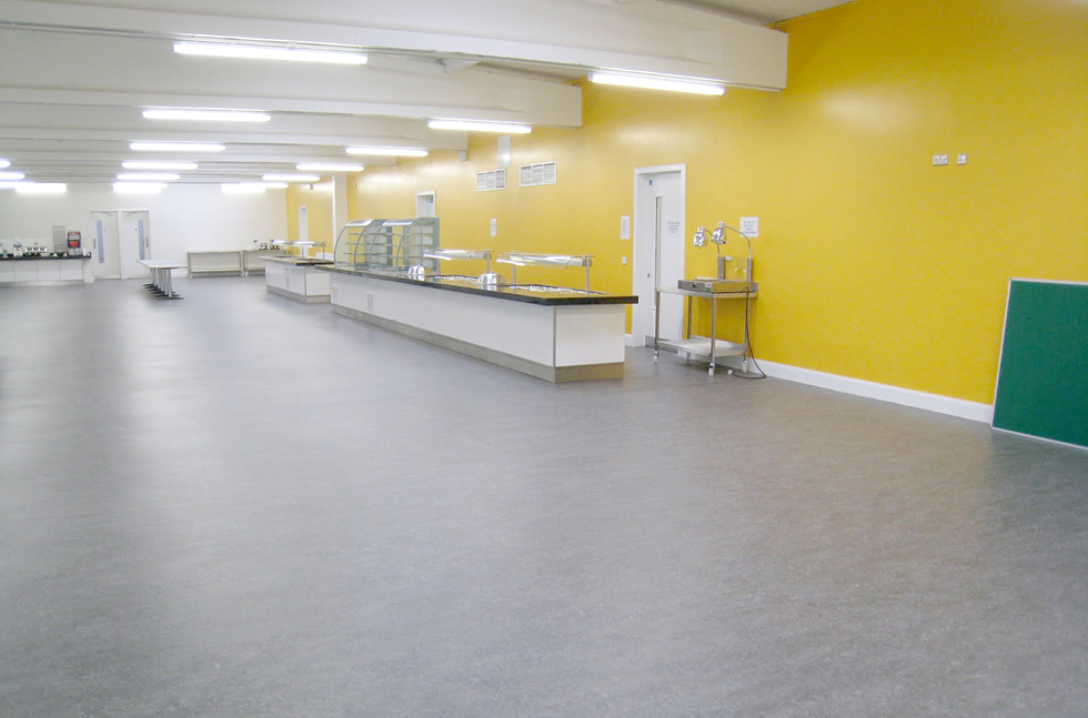 Flowcrete Sets Pace for Refurbished Catering Centre