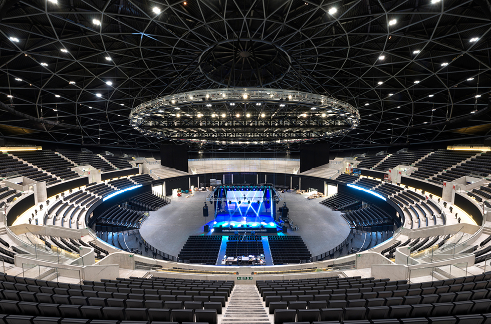 Singing and Sports on SSE Hydro Arena's Flowfast Floor