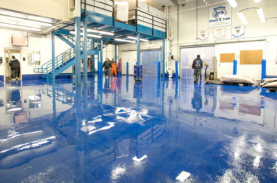 All Hands on Deck as Flowcrete Bolsters Boston Seafood Processing Project