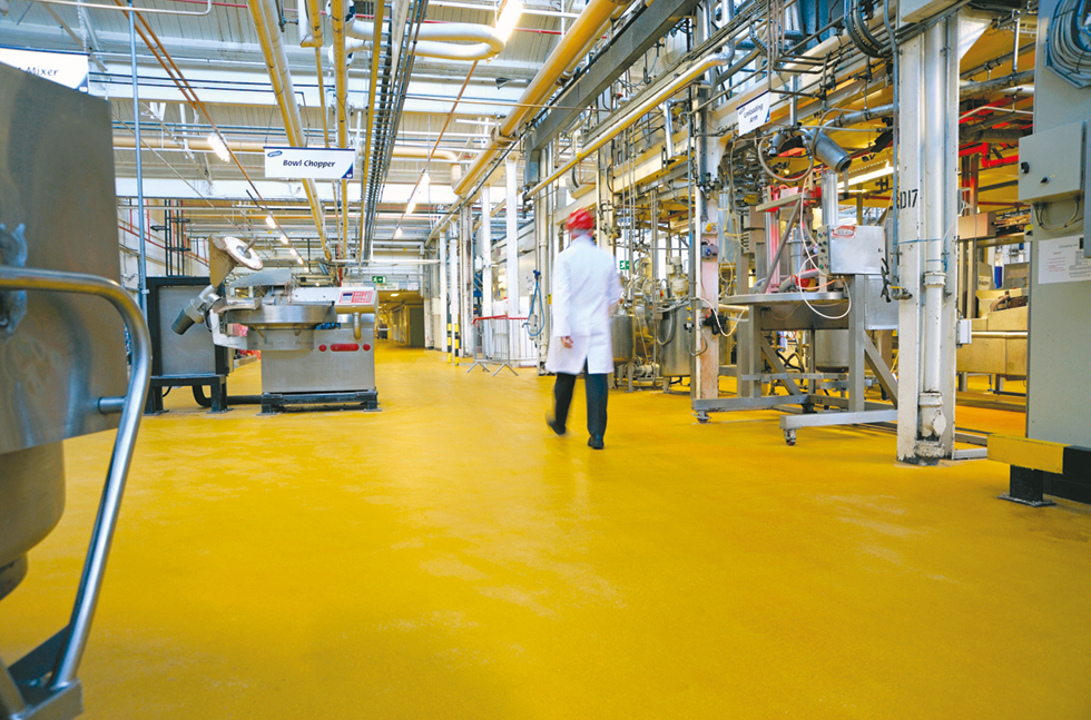 The Power Of Silver Delivers A Hygienic Floor For McVities