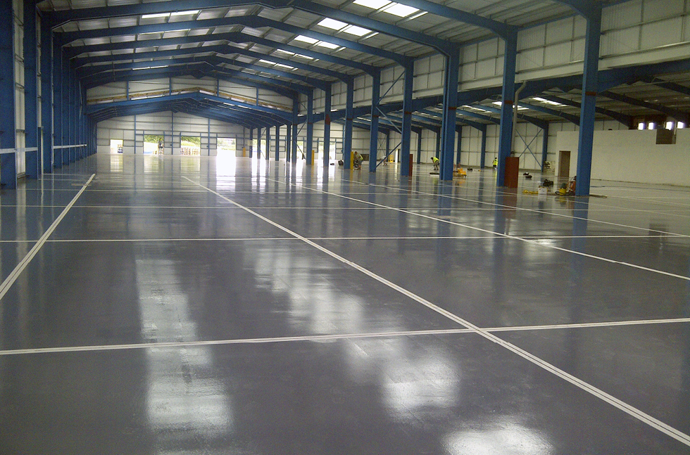 Fire Damaged Floors Fixed by Flowcrete