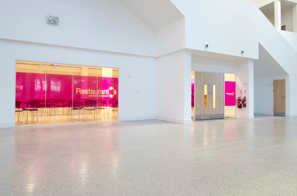 Fast Track Floors at New Iconic Cheshire College