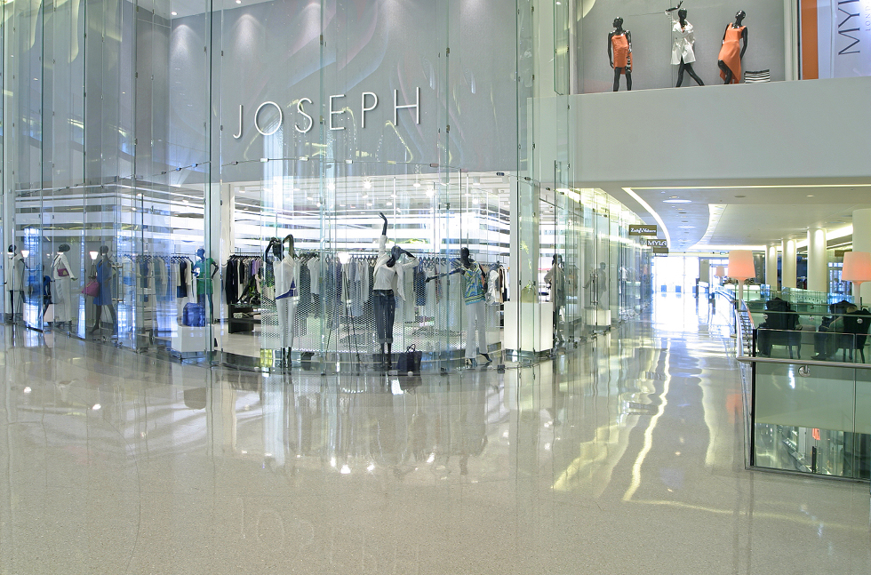 Flowcrete's High Fashion Flooring at Westfield London