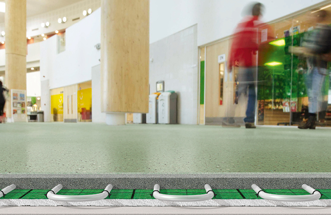 The durability of Flowcrete UK's resin systems also provides end users with green benefits.