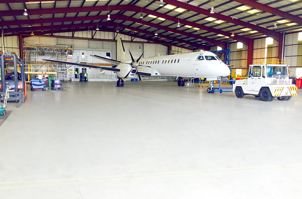 BMI Regional Installs Specialist Aviation Industry Floor Finish