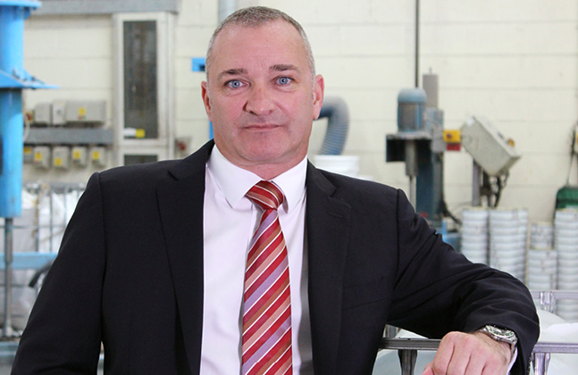 Craig Brookes has been working at Flowcrete for 20 years.