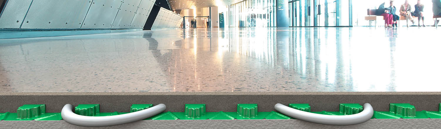 The Floorzone Solution From Flowcrete UK