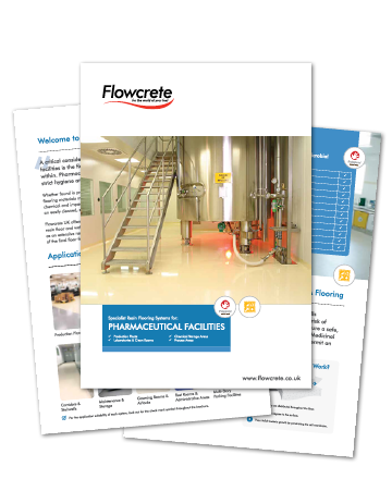 GMP Compliant Flooring Solutions From Flowcrete UK