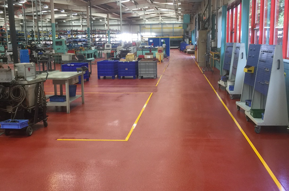 Manufacturer Specifies Floors to Protect Against Impacts, Chemicals and Wear
