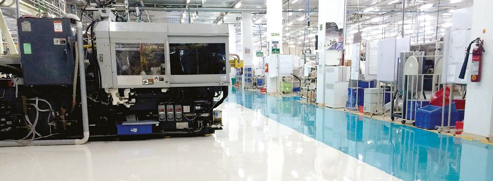 Anti Static Floor System : Anti static flooring for electrical environments