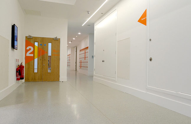 Modern Terrazzo Flooring Revitalises Historic Kelvin Hall