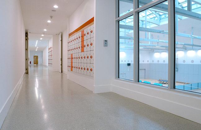 Modern Terrazzo Flooring Revitalises Historic Kelvin Hall