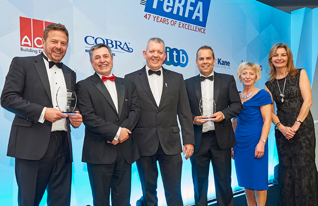 Flowcrete UK Wins Large at the FeRFA 2017 Awards
