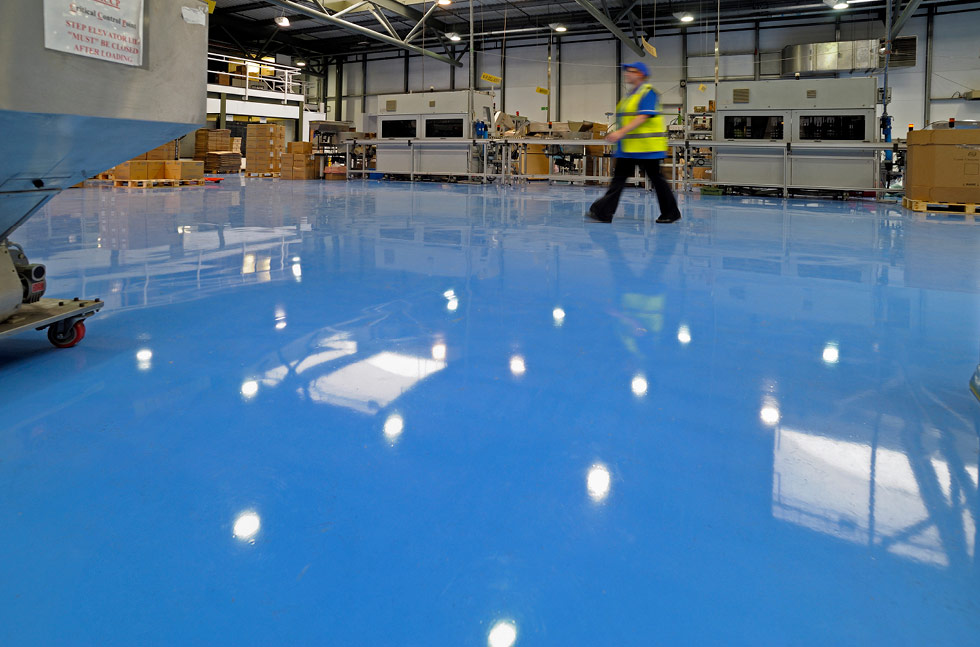Bright Flowshield SL Floors at Guala Closures
