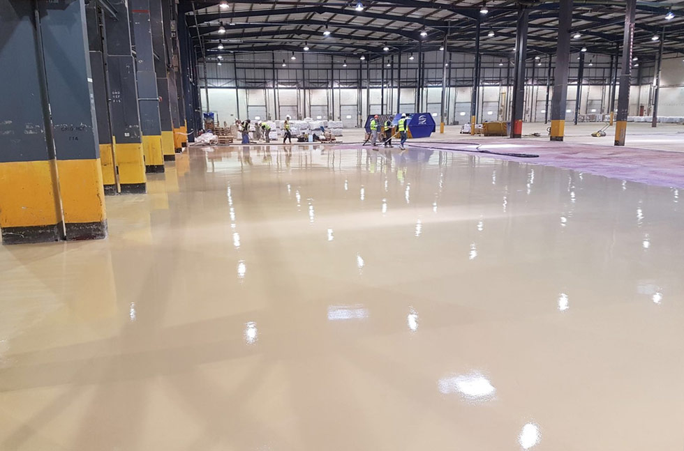 Sustainable Flooring Success at Royal Mail Depot