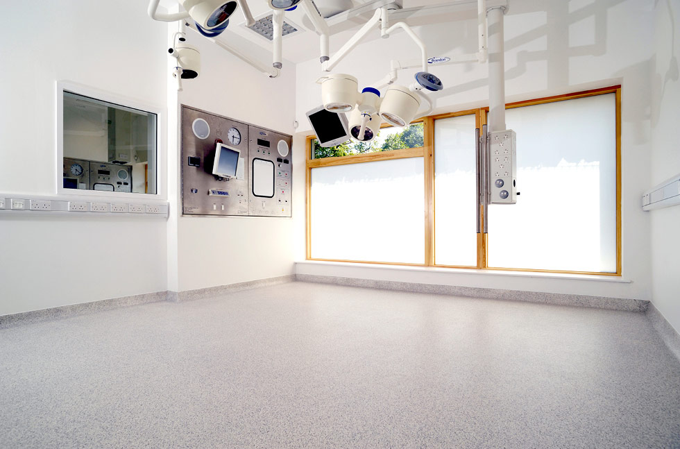 Flowcrete Floor for Glasgow's Small Animal Hospital
