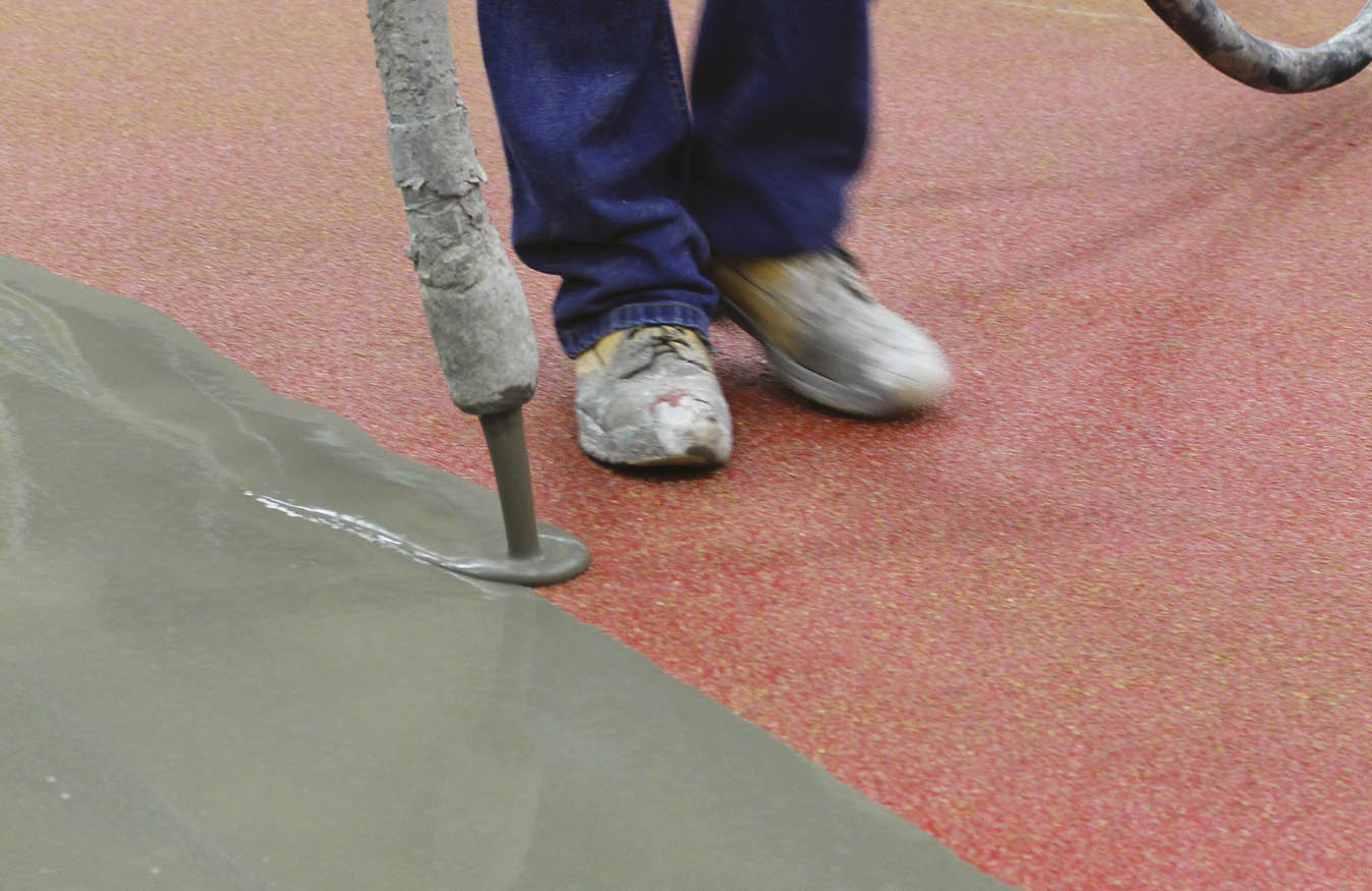 Flowcrete UK has enhanced its self levelling screed systems