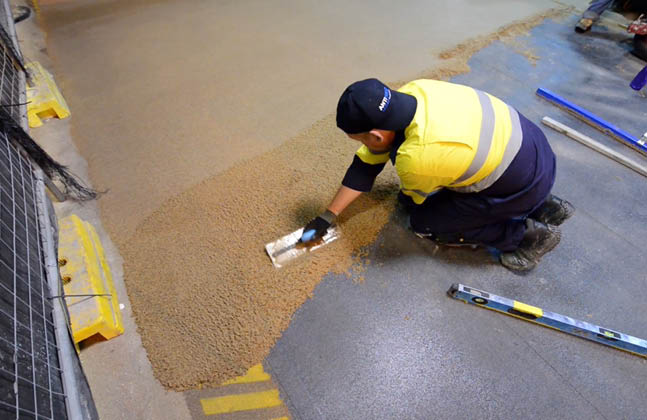 Find high performance resin flooring solutions at FM Ireland, stand B32