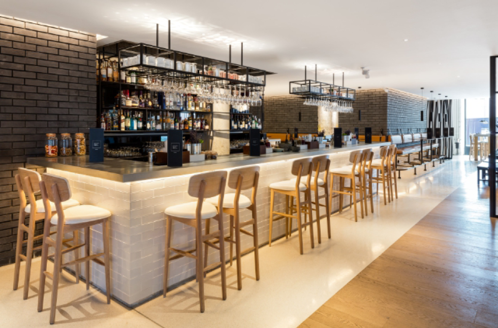 Introducing Fast Cure Terrazzo Flooring at the Newly Opened Leicester Square Kitchen