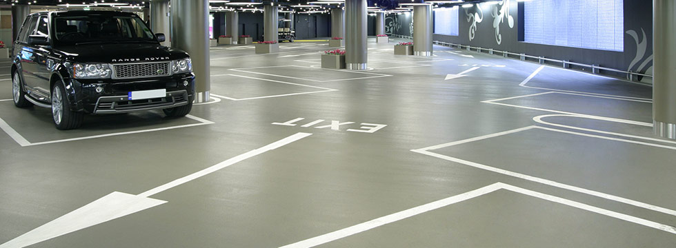 Deckshield coverage for Car Parks and Garages