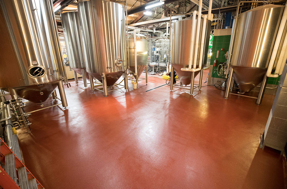 US Homegrown Craft Beer Sensation, Brooklyn Brewery, Chooses Fresh Floor Finish for Williamsburg Plant Upgrades​
